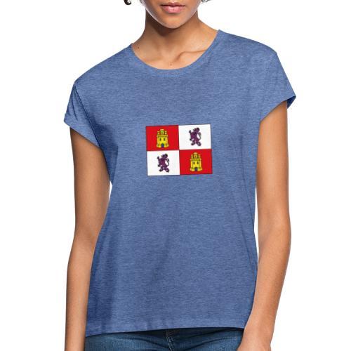 ESCUDO CASTILLA Y LEON - Camiseta holgada de mujer