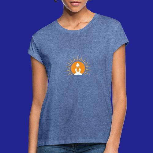 Guramylyfe logo white no text - Women's Oversize T-Shirt