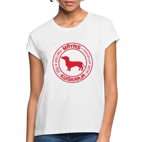 Mäyriskuiskaaja RED II - Naisten oversized-t-paita
