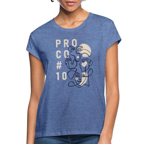 shirt farbig - Frauen Oversize T-Shirt