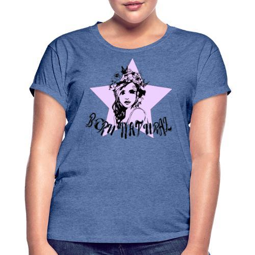 BPRN NATURAL - Maglietta ampia da donna