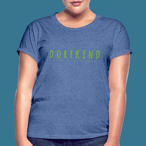 Dorfkind- 100% Westerwald. - Frauen Oversize T-Shirt