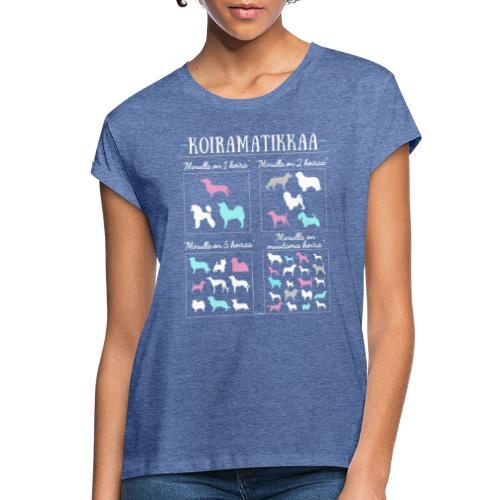 Koiramatikkaa II - Naisten oversized-t-paita
