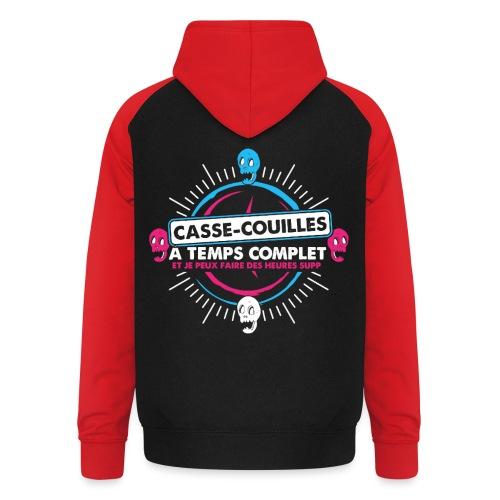 CASSE BONBON - Sweat-shirt baseball unisexe