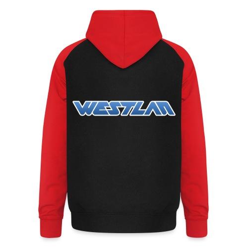 WestLAN Logo - Unisex Baseball Hoodie
