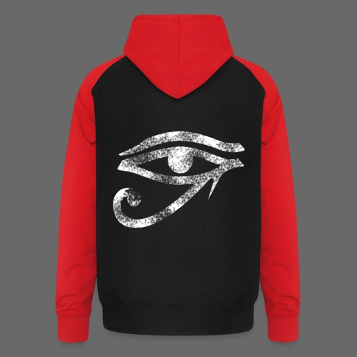 The eye catcher. - Unisex Baseball Hoodie