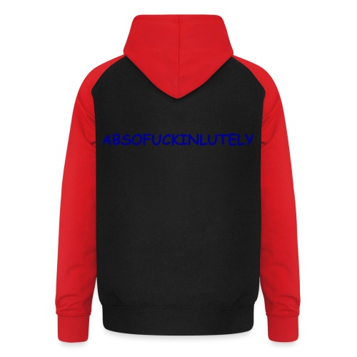 ABSOFUCKINLUTELY - Unisex Baseball Hoodie