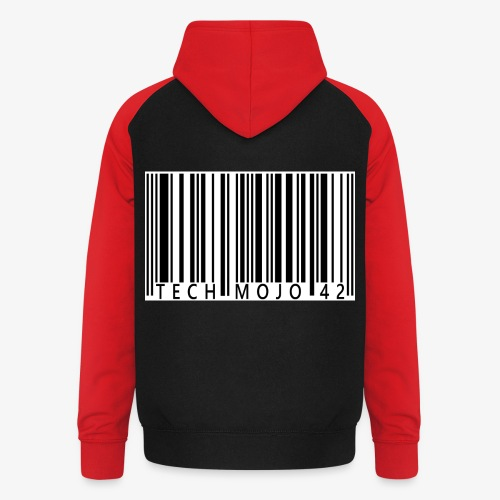 TM graphic Barcode Answer to the universe - Unisex Baseball Hoodie