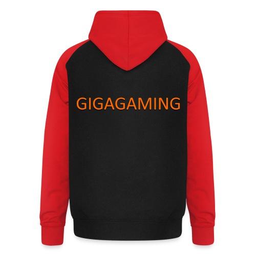 GIGAGAMING - Unisex baseball hoodie