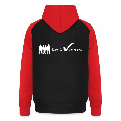TDV - Unisex baseball hoodie