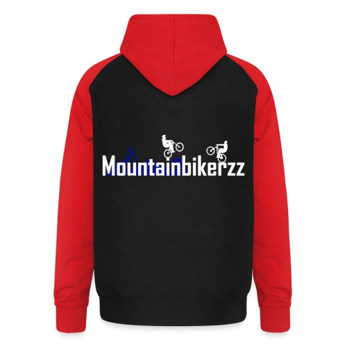 Mountainbikerzz - Unisex Baseball Hoodie