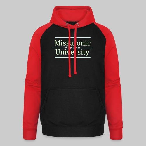 Miskatonic University - Unisex Baseball Hoodie
