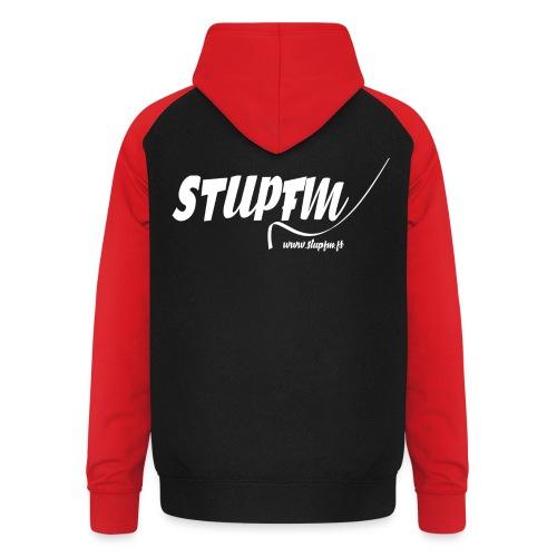 StupFM - Logo - Sweat-shirt baseball unisexe