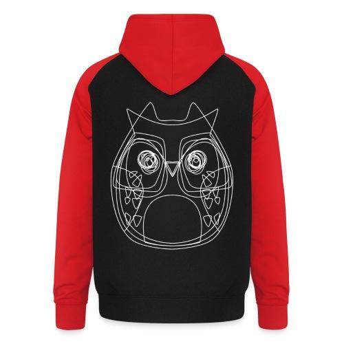 Owls - Unisex Baseball Hoodie