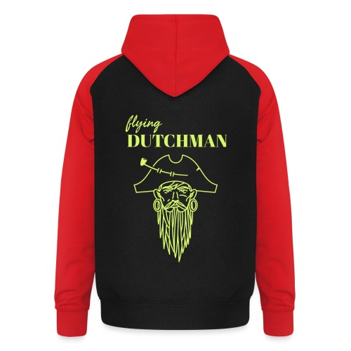 Meet the flying Dutchman ! - Unisex Baseball Hoodie