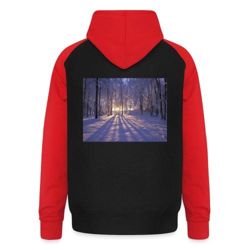 Wintercollectie - Unisex baseball hoodie