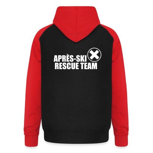 APRÈS SKI RESCUE TEAM 2 - Unisex baseball hoodie