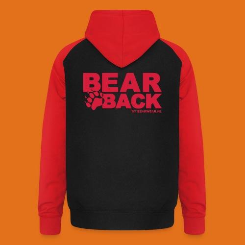 bearback new - Unisex Baseball Hoodie