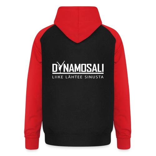 DynamoSali valkoinen - Unisex baseball-huppari