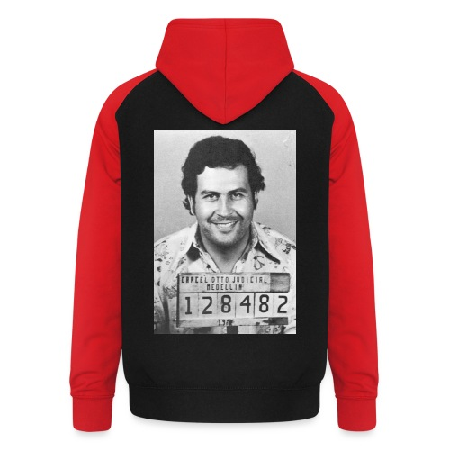 Pablo Escobar Mug - Unisex Baseball Hoodie