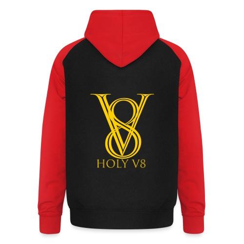 Holy V8 - Unisex Baseball Hoodie