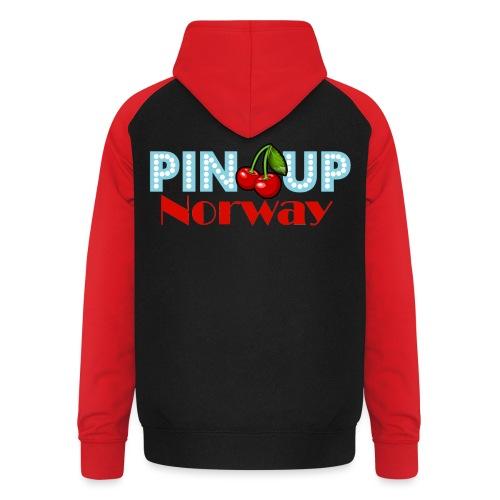 Pinup Norway Fan Club - Unisex baseball-hettegenser
