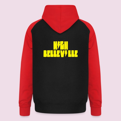HIGH BELLEVILLE - Sweat-shirt baseball unisexe