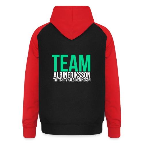 Team albinerikss0n - Basebolluvtröja unisex