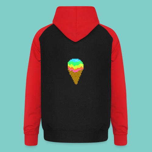 Glace - Sweat-shirt baseball unisexe