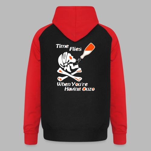 Time Flies Ouzs Shirt - Unisex Baseball Hoodie