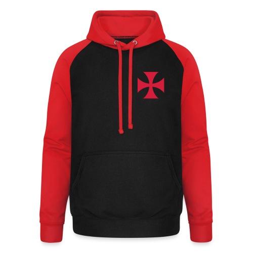 The Templar Cross Shirt - Unisex Baseball Hoodie