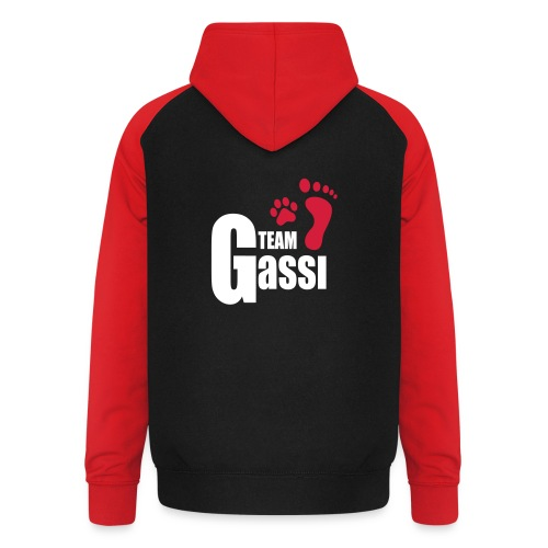 Vorschau: Team Gassi - Unisex Baseball Hoodie