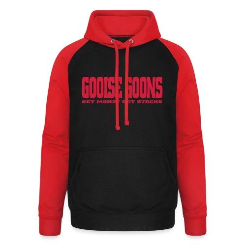 GOOISE GOONS - Unisex baseball hoodie