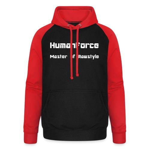 HumanForce Merchandise - Unisex Baseball Hoodie