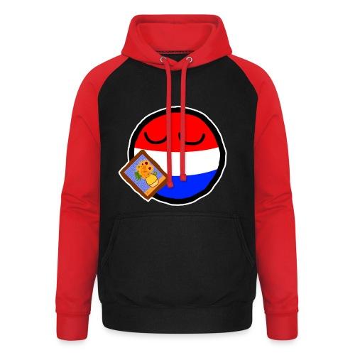 Netherlandsball - Unisex Baseball Hoodie
