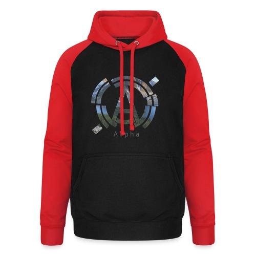 AlphaOfficial Logo T-Shirt - Unisex Baseball Hoodie