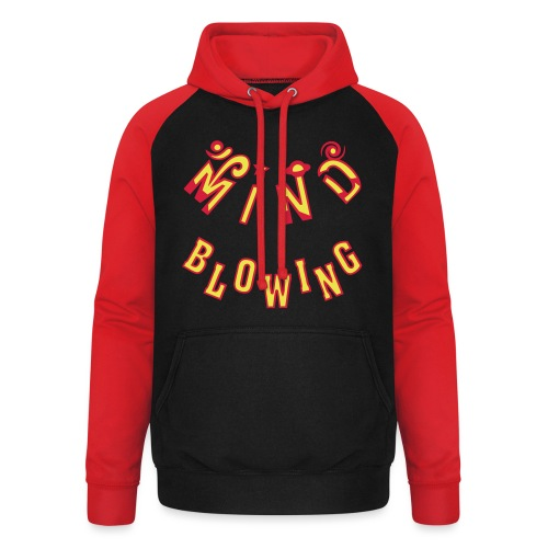 Mind Blowing - Unisex baseball hoodie