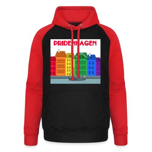 PRIDENHAGEN RETRO T-SHIRT - Unisex baseball hoodie
