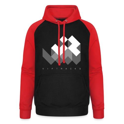 LOGO VIPTRACKS RELEASES - Unisex baseball hoodie