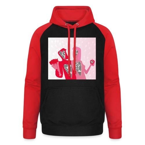 Valentine - Unisex baseball hoodie