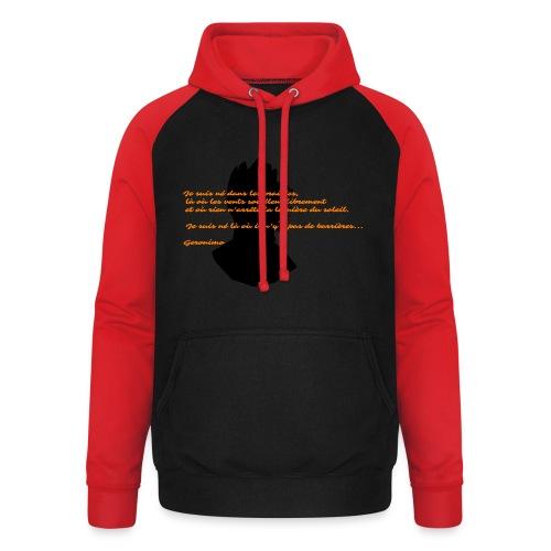 geronimo 2 - Sweat-shirt baseball unisexe