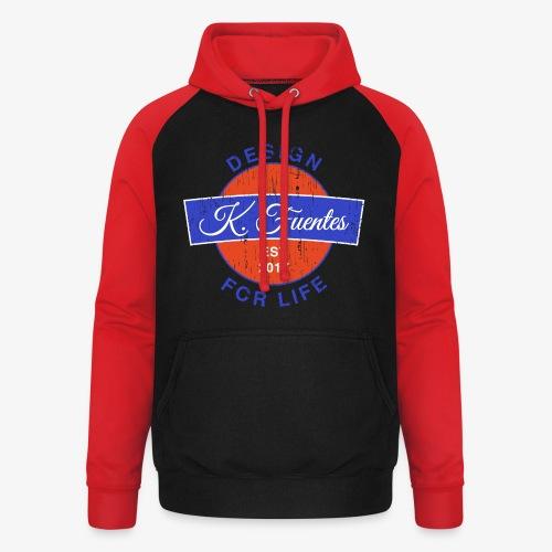 Fuentes Logo - Unisex Baseball Hoodie