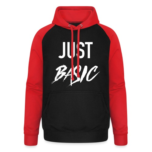 Just Basic - Unisex Baseball Hoodie