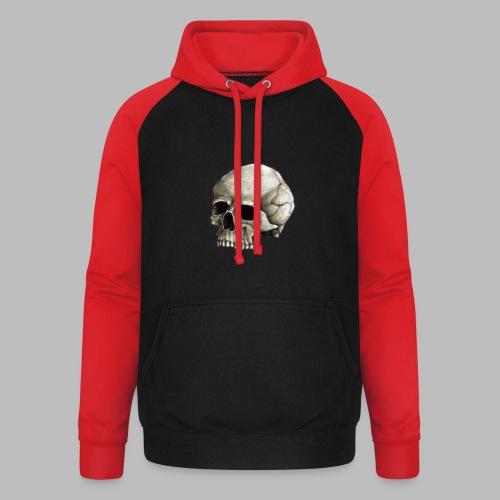 skully 03 - Unisex Baseball Hoodie