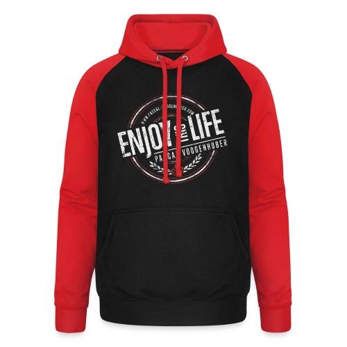 Enjoy this Life® & Fleur de Lys Pascal Voggenhuber - Unisex Baseball Hoodie
