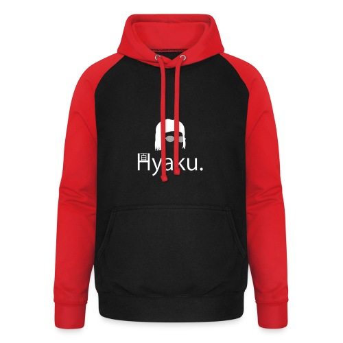 Hyaku White - Unisex baseball-hettegenser