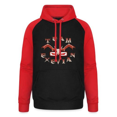 Logo Team Exevian Speciale 1000 - Felpa da baseball con cappuccio unisex