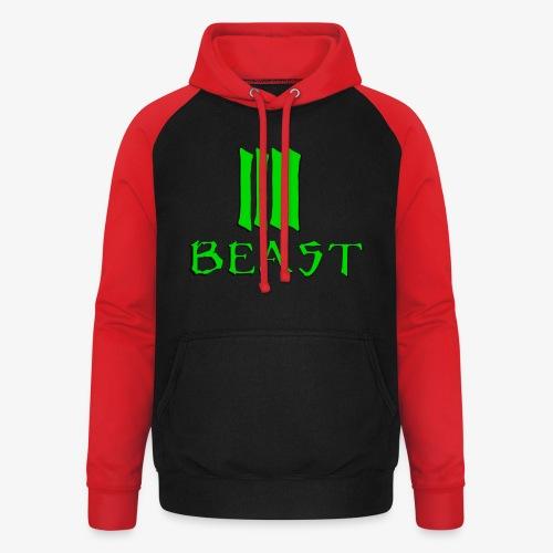 Beast Green - Unisex Baseball Hoodie
