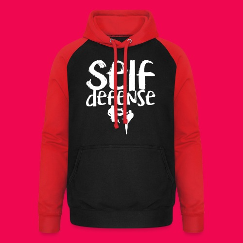 Self Defense 1.0 - Unisex Baseball Hoodie