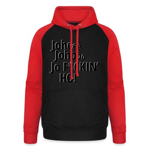 Premium T-Shirt Johee Johoo JoF*CKIN HO! - Unisex baseball hoodie